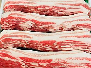 九州産豚バラスライス
